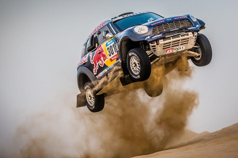 MINI ALL4 RACING Nasser Al Attiyah 10