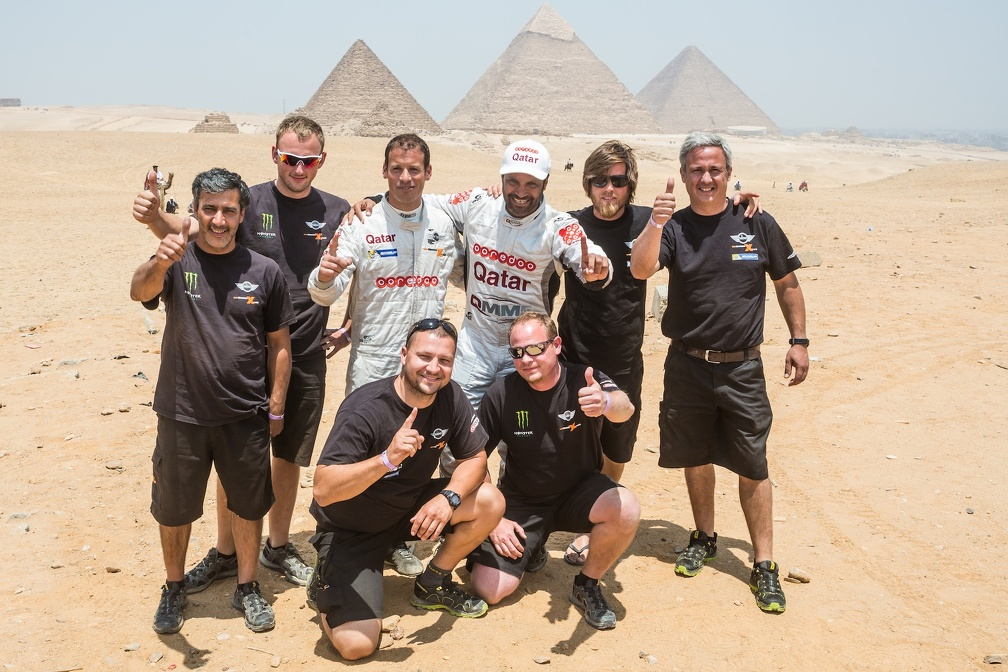 pharaons al-attiyah & team